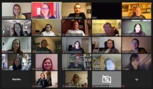 Ein Teil der TeilnehmerInnen der Online-Veranstaltung